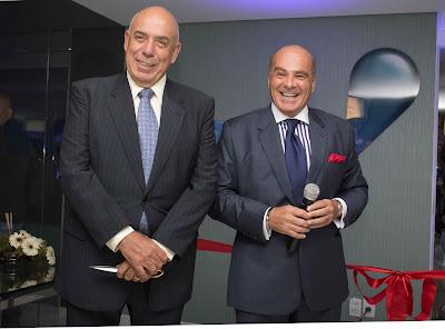 O presidente da RedeTV! Amilcare Dallevo Jr. e o vice-presidente da emissora Marcelo de Carvalho - Crédito/Foto: Divulgação/RedeTV!