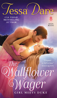 Book Review: The Wallflower Wager (Girl Meets Duke #3) by Tessa Dare | About That Story