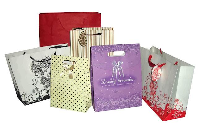 các mẫu in túi giấy