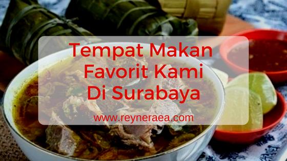Tempat makan favorit di Surabaya