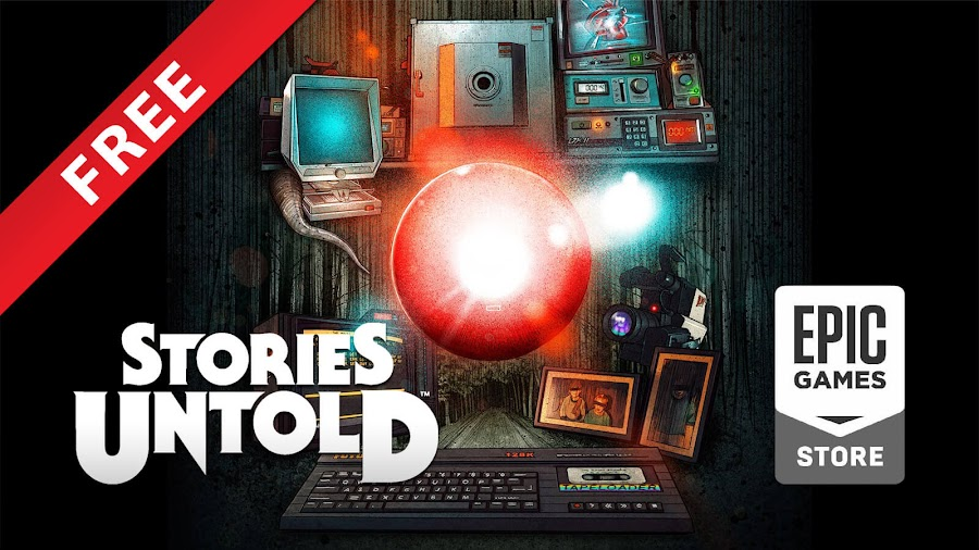stories untold free pc epic games store episodic horror adventure puzzle game