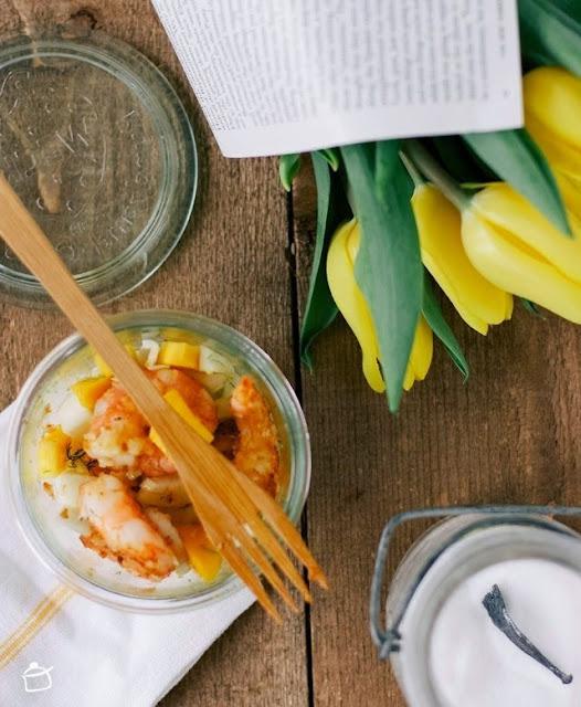 insalata di finocchi con mango