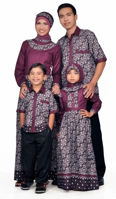 baju muslim batik keluarga tanah abang