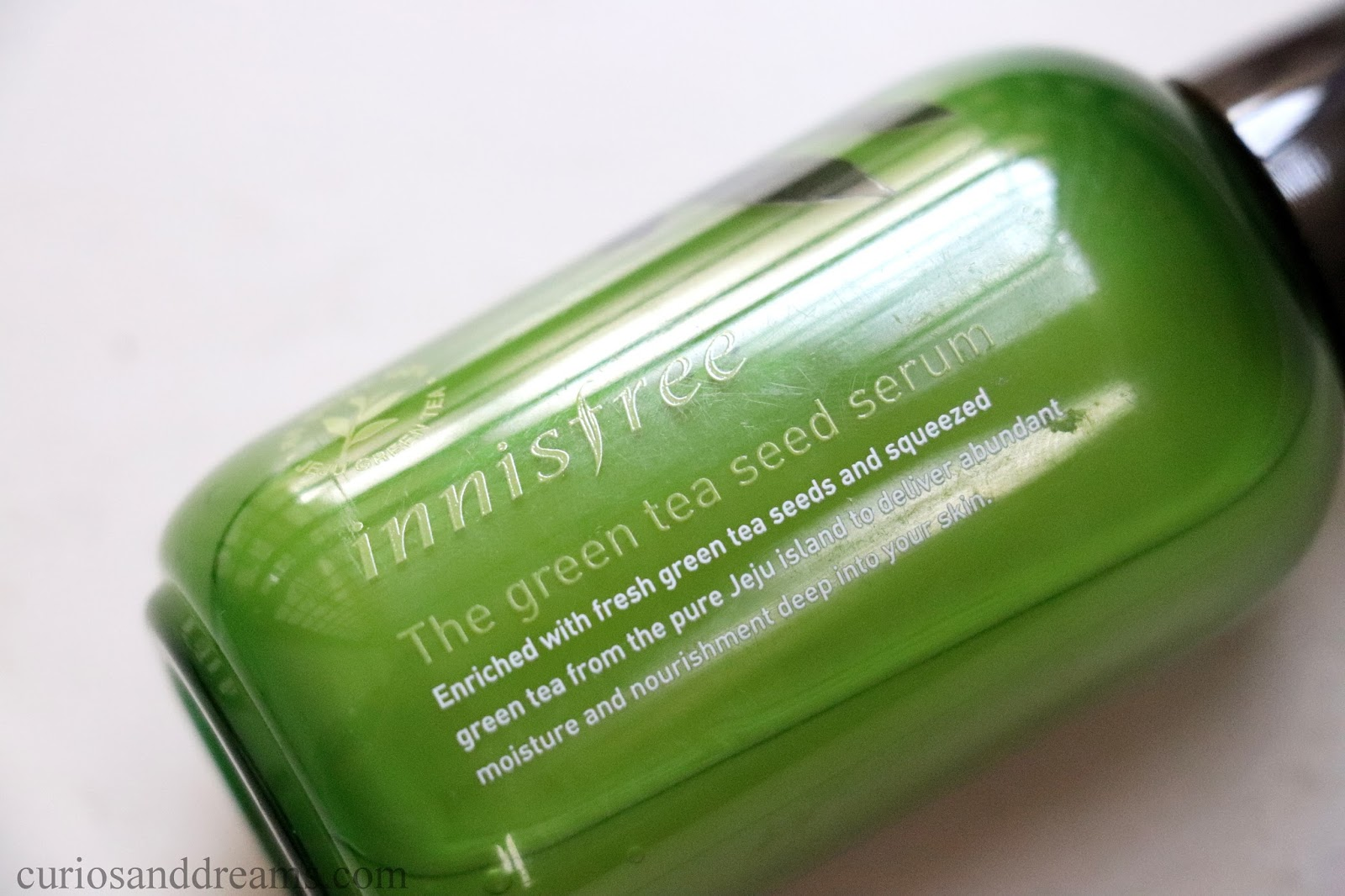 Curios And Dreams Makeup Beauty Product Reviews Innisfree The Green Tea Seed Serum 80ml Review India 80 Ml Plastic Bottle Comes With A Pump Dispenser Cap Though You Will Probably Lose