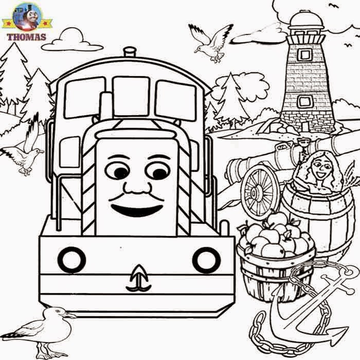 Coloring pages thomas the tank engine coloring pages free for Printable thomas the train coloring pages