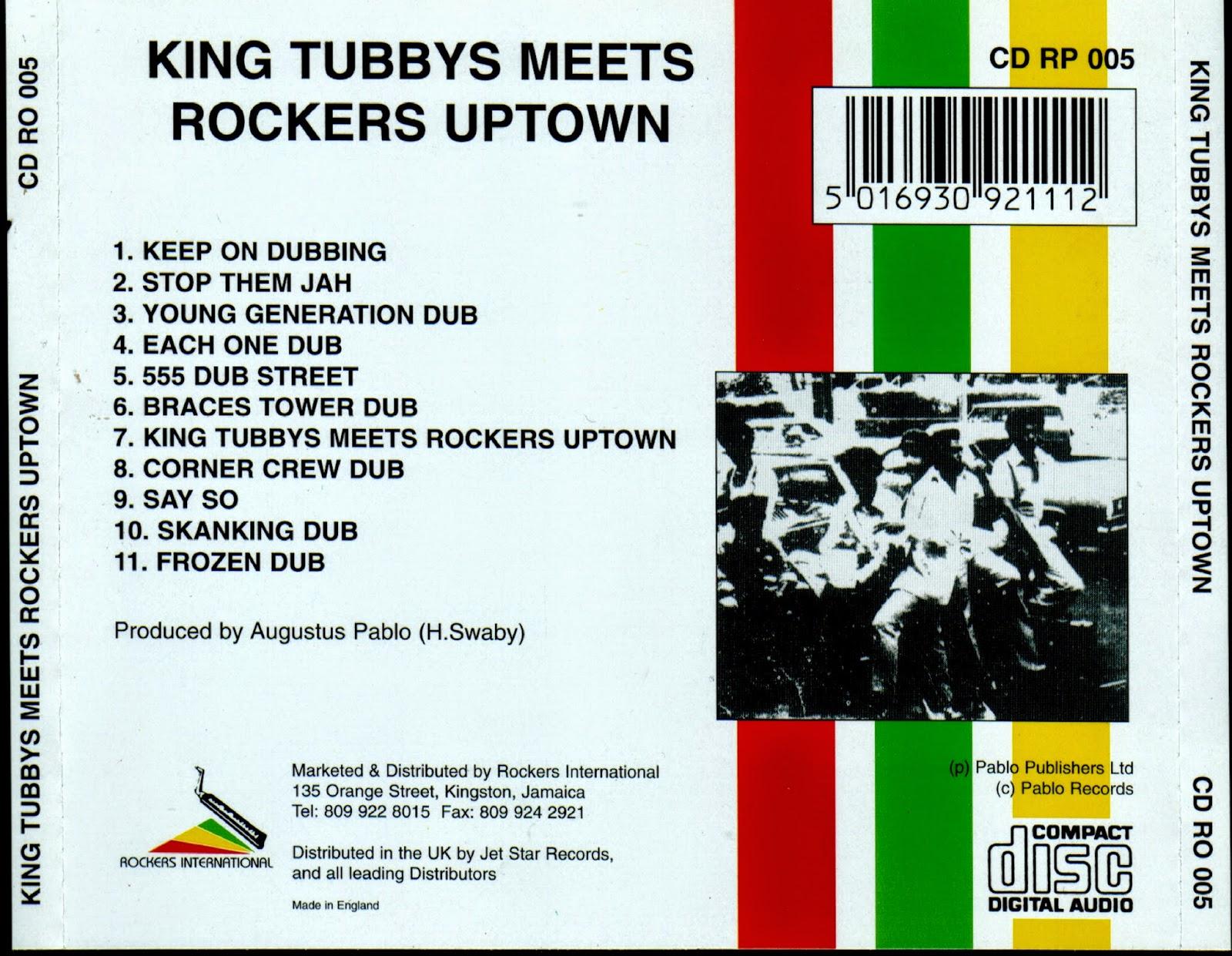 Augustus Pablo King Tubby Meets Rockers Uptown Rar   My