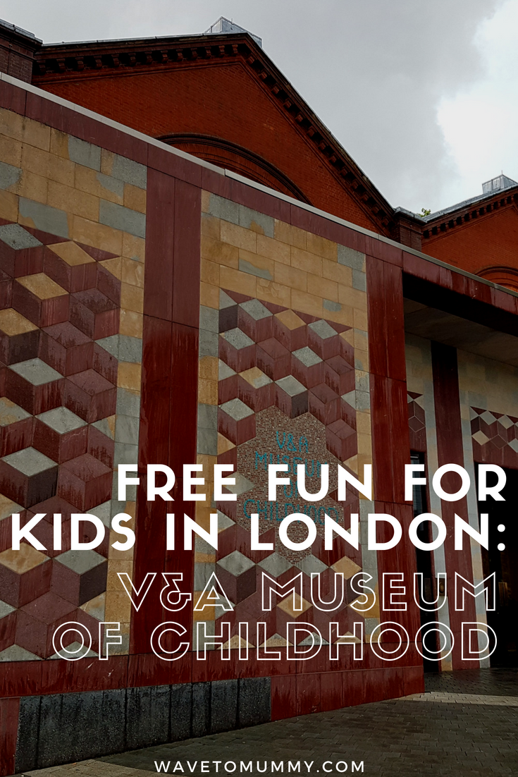 What to do in London with kids? A free rainy-day proof day out with kids in London UK - V&A Museum of Childhood! This post tells what V&A Museum of Childhood is like, is it worth a visit (short answer, YES), and top tips when visiting!