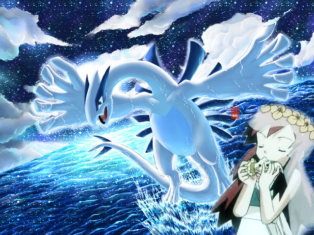 Lugia and Melody