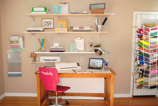craft room, home office, Silhouette School