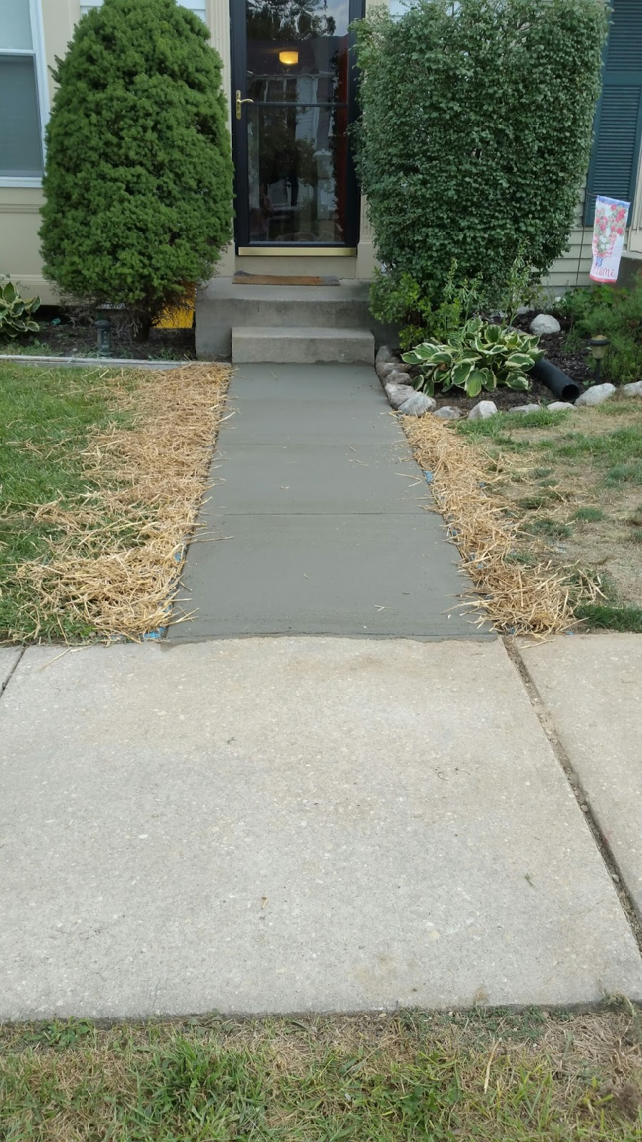custom stoneworks design inc concrete walkways installed baltimore