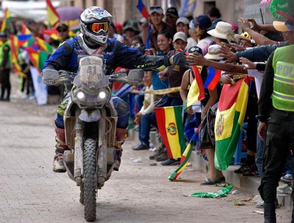 Blindan Tupiza con más de 500 policías para el paso del rally Dakar