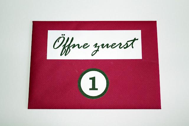 DIY, Basteln: Öffne wenn... Briefumschläge in Liebesgeschenk und Geschenkideen - DIYCarinchen