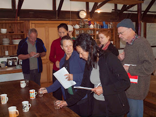 Meditation Retreat coffee tasting