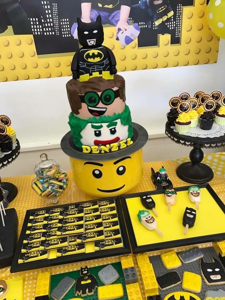 Lego Batman Cake and Desserts | Crissa\'s Cake Corner!