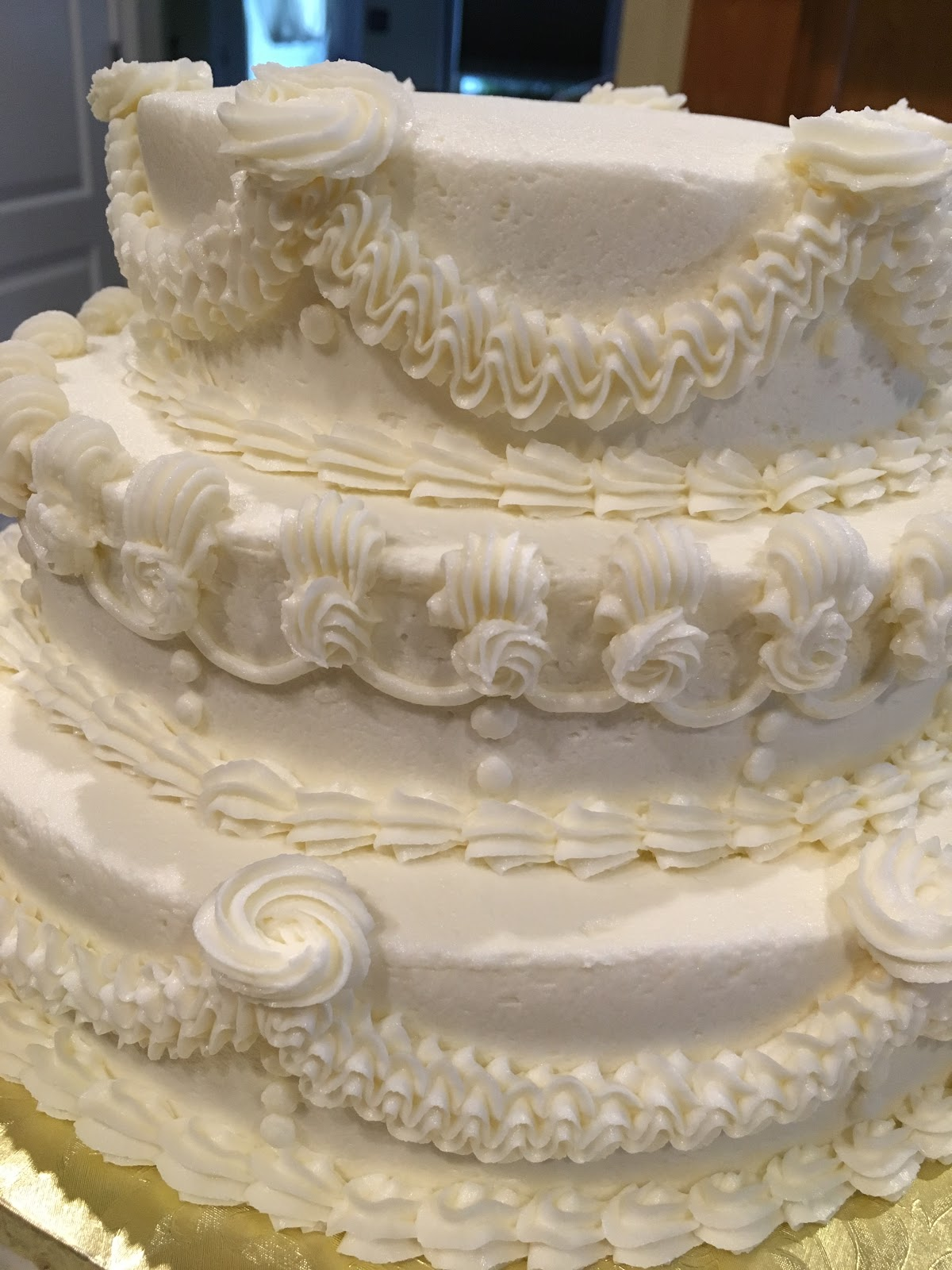 cakes by marion: 50th Anniversary Wedding Cake