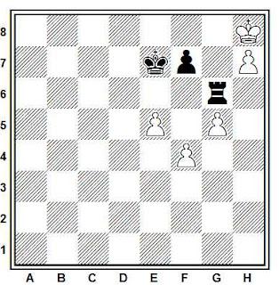 Problema ejercicio de ajedrez número 858: Buch - Medachich (Lugano, 1985)