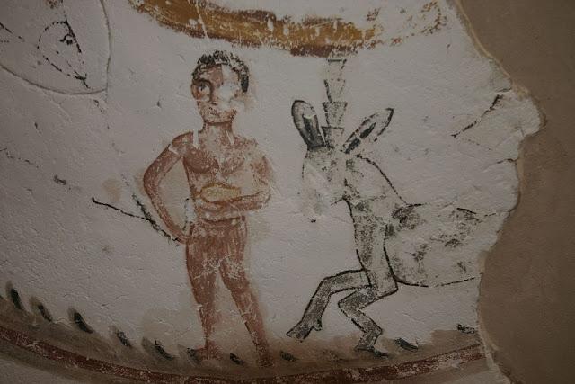 Paintings from the tomb of Petosiris at Muzawaka (XXIV)