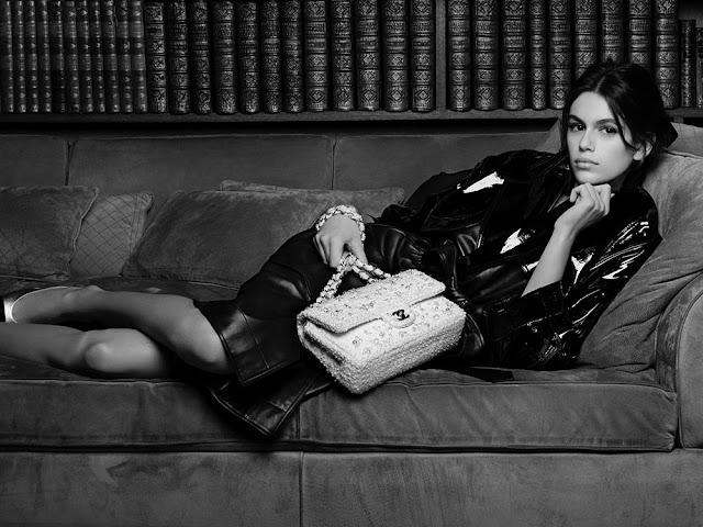 Kaia Gerber etkisinde Chanel Bahar Çantaları