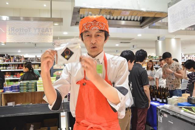 TOTTORI TOURISM & CUISINE PROMOTION, Tasty Tottori, Tottori Food Fair 2016, Tottori, Japan food, beautiful japan, japan fair in malaysia, japan food in malaysia, cheap matsuba crab, matsuba crab, ketam jepun. ketam besar sedap, Umeko 'Plum Wine (non-alcoholic)',