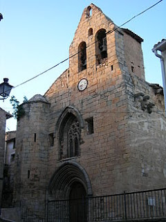 Lledó, iglesia, Santiago, Jaume