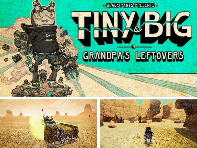 Tiny & Big in Grandpa's Leftovers (Black Pants Studio, 2012)