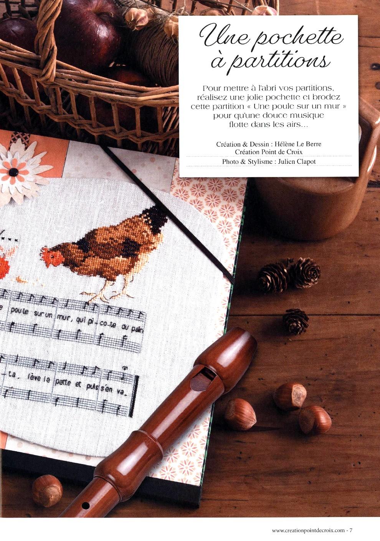 Журнал со схемами вышивки - Creation Point De Croix №78 2019 (7)