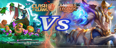 Game COC Vs Game Mobile Legends