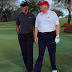Golf Legend, Tiger Woods Spotted Playing Golf With Donald Trump [PHOTOS]