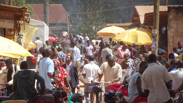 Daily life in Kabale Town