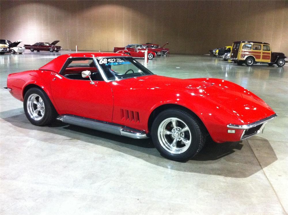 chevrolet corvette 427 1968 vintage car welcome to expert drivers. Black Bedroom Furniture Sets. Home Design Ideas