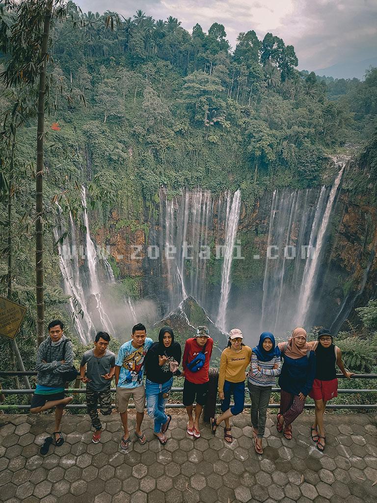 Tumpak Sewu Waterfall, surga tersembunyi di Lumajang