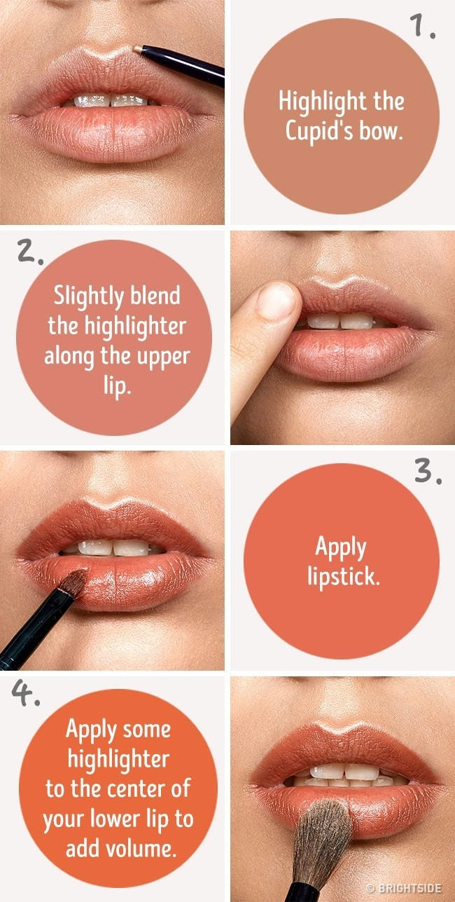 How to use lip liner to make lip fuller