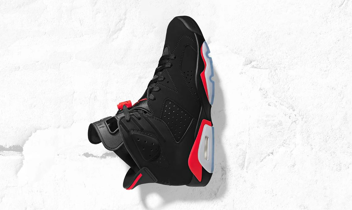 bc1ebd0c1d6e Air Jordan 6 Infrared 2019 Retro OG Sneaker (Detailed Look   Where to Find)