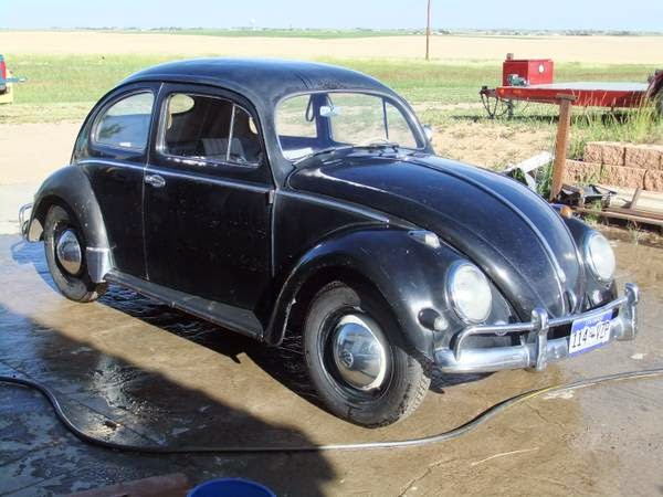 1957 VW Beetle Oval All Original