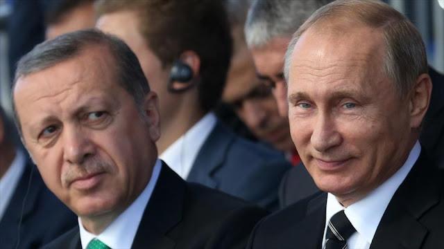 Erdogan advierte a Putin sobre posible ofensiva de Siria en Idlib