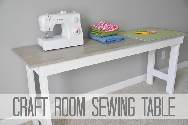 Easy Diy Craft Table