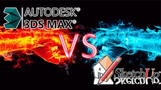 Autodesk 3dsMax or Google Sketchup