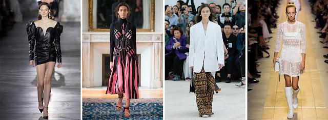 Yves Saint Laurent, Valentino, Balenciaga, Christian Dior