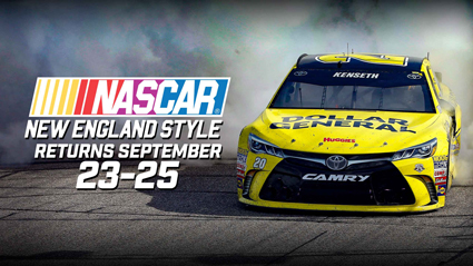 Complete #NASCAR Schedule for New Hampshire Motor Speedway