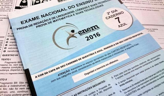 Em Santana do Ipanema, 408 candidatos farão o Enem neste final de semana
