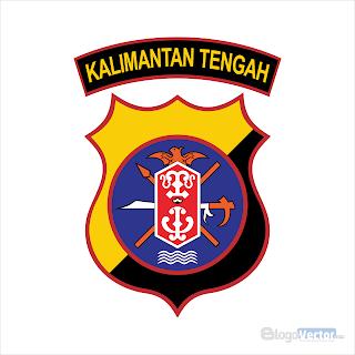 Polda Kalimantan Tengah Logo vector (.cdr)