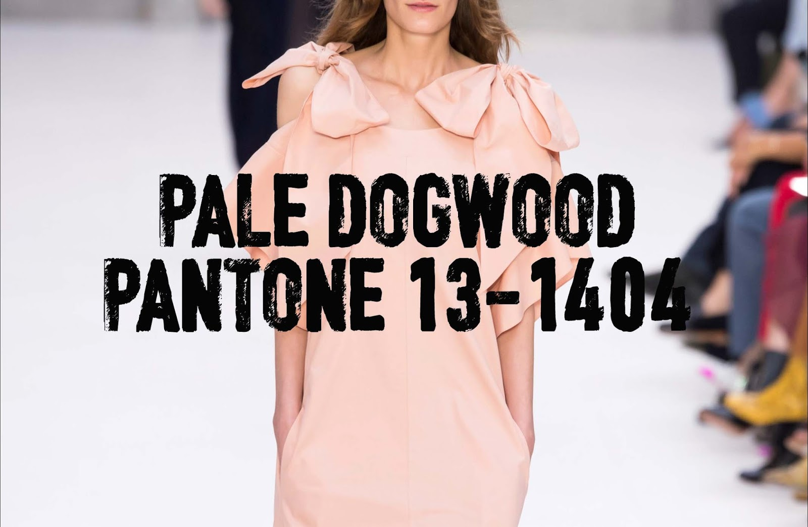 Come indossare il Pale Dogwood - tendenze Pantone SS 2017