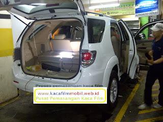 Pasang Kaca film mobil Toyota Fortuner