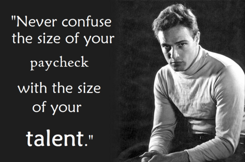 Best  Marlon Brando inspiring Image Quotes and text Sayings
