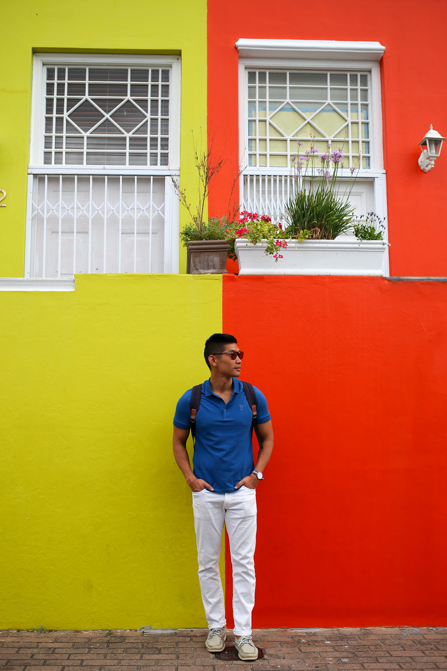 Bo-Kaap, Levitate Style, Travel, Menswear, Cape Town, What to Wear, Versace Polo