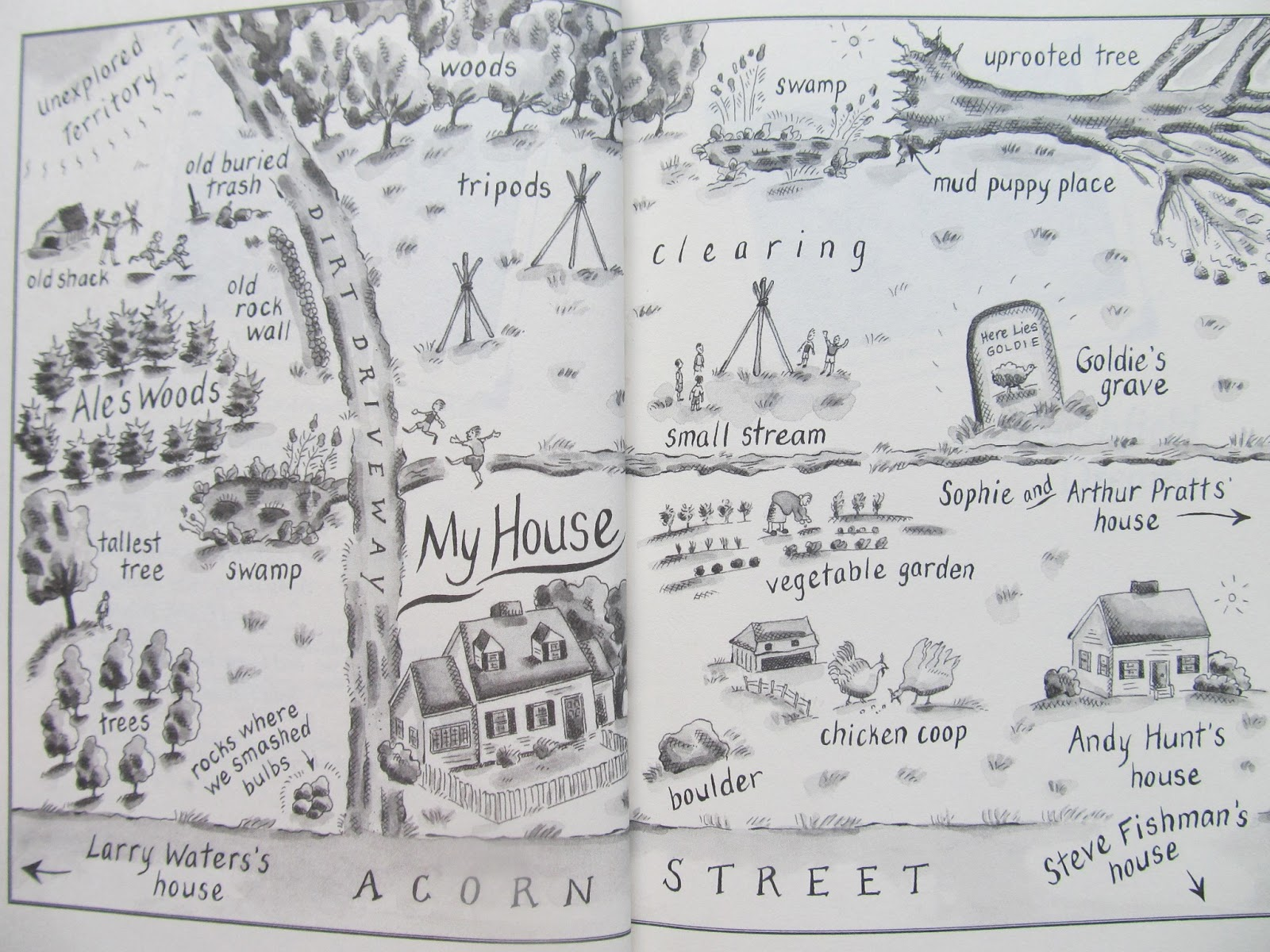 How to write a story map