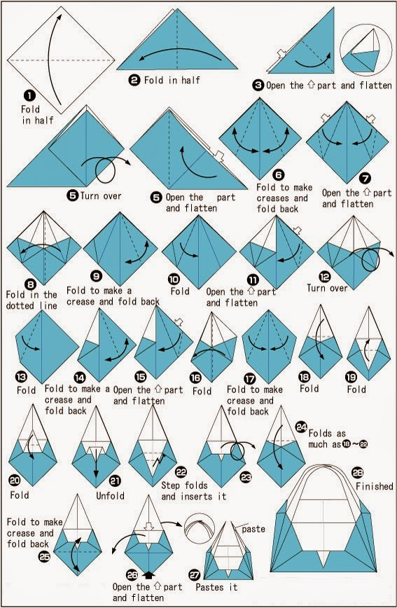 Easy Origami Boat Instructions