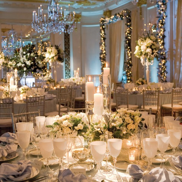 winter-wedding-centerpieces-javier-gomez-barin-palomo E... dopo le stelle di Natale Rosse...Menù Nozze d'Inverno