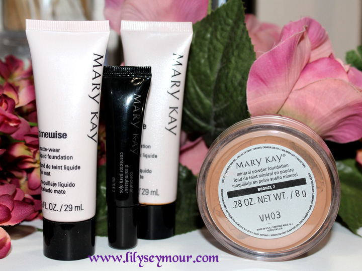 Mary Kay Foundation, Concealer & Mineral Powder