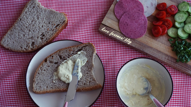 sahur için pratik sandviç